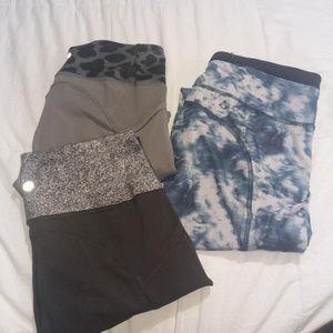 ( 3) Lululemon bundle leggings
